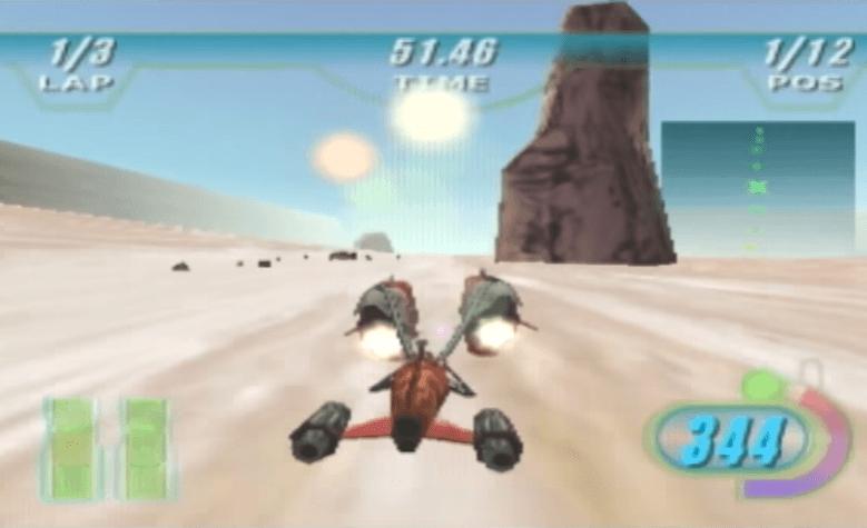 Star Wars Episode 1 Racer - N64 Gameplay