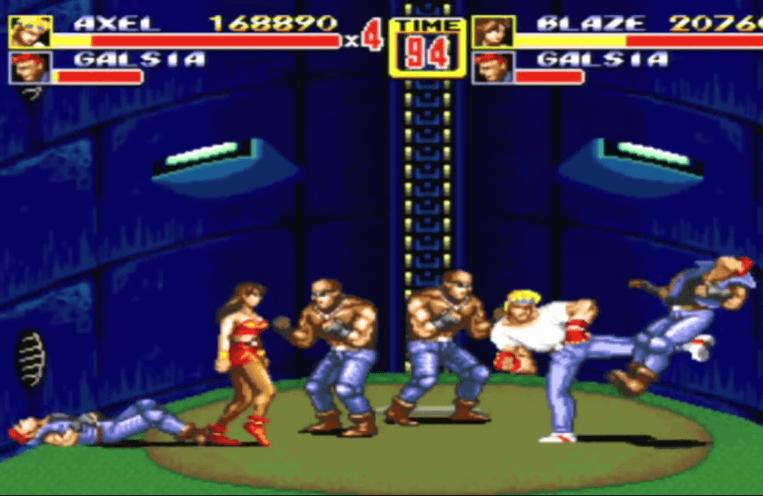 Streets of Rage 2 - Genesis Gameplay