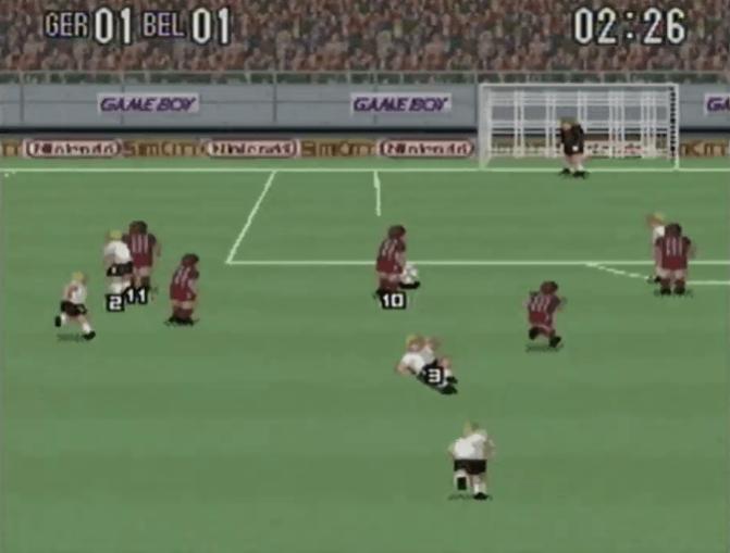Super Soccer - SNES gameplay