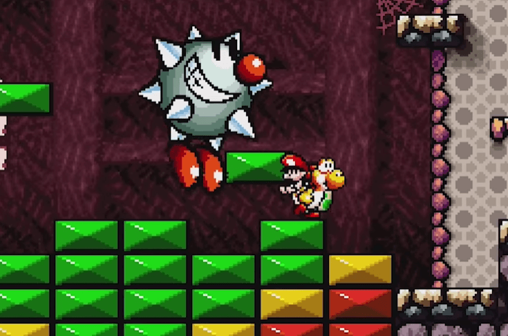 Tap-Tap the Red Nose - Yoshi's Island