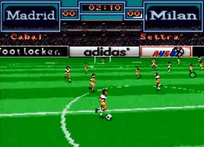 Tony Meola's Sidekicks Soccer - SNES gameplay