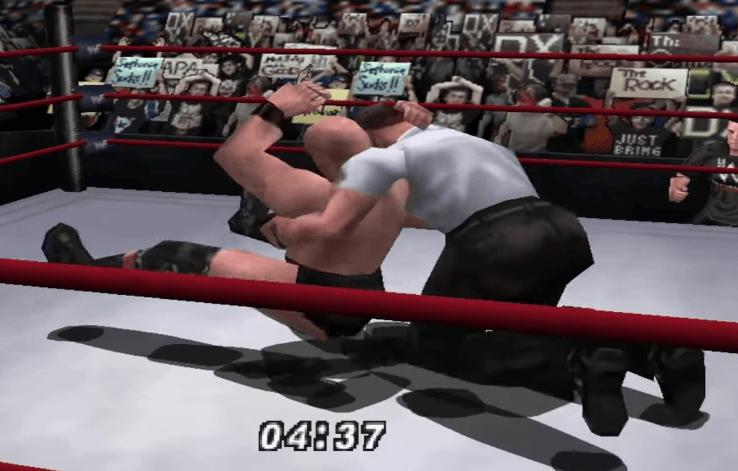 WWF No Mercy N64 Gameplay