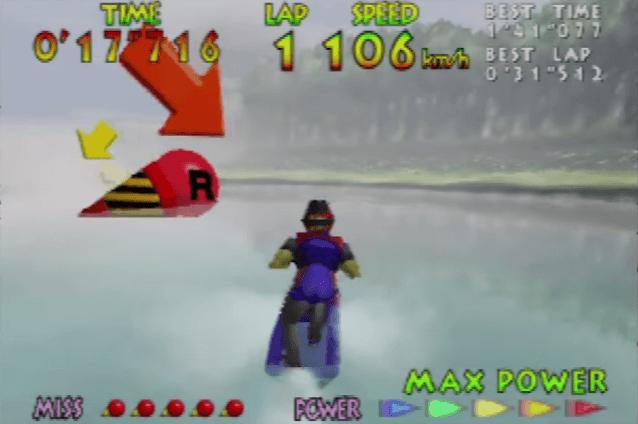 Wave Race 64 - N64 Gameplay